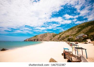 Ky Co beach / Ky Co island at Nhon Ly village - Quy Nhon - Viet Nam - Beautiful beach in Viet Nam - Shutterstock ID 1467512387