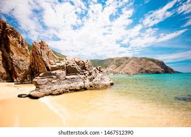 Ky Co beach / Ky Co island at Nhon Ly village - Quy Nhon - Viet Nam - Beautiful beach in Viet Nam - Shutterstock ID 1467512390