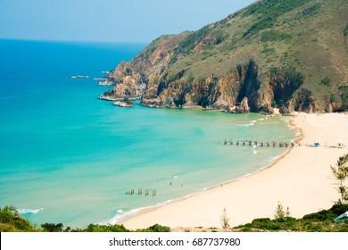 Ky Co beach in Quy Nhon, Vietnam
