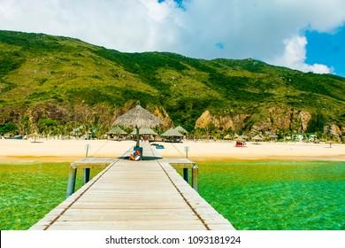 Ky Co island Ky Co Beach the wild beach in Binh Dinh Viet Nam - Shutterstock ID 1093181924