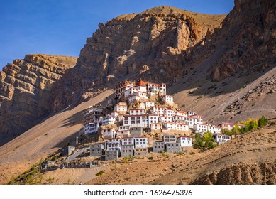 Kye Gompa also spelled Ki, Key or Kee is a biggest Tibetan Buddhist monastery located at an altitude of 4,166 m close to Spiti River in Spiti Valley of Himachal Pradesh, Lahaul & Spiti district, India