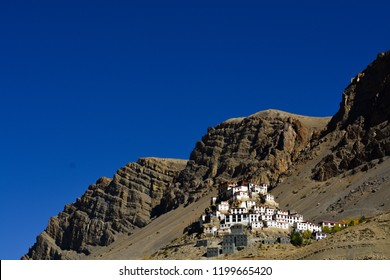 Kye/ Ki/ Kee/ Key Gompa is a Tibetan Buddhist monastery located on top of a hill at an altitude of 4,166 metres (13,668 ft) above sea level, close to the Spiti River in Himachal Pradesh.