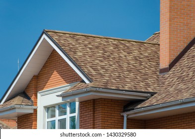 Kyev - 27/05/2019 - House width a roof of bilayer shingles