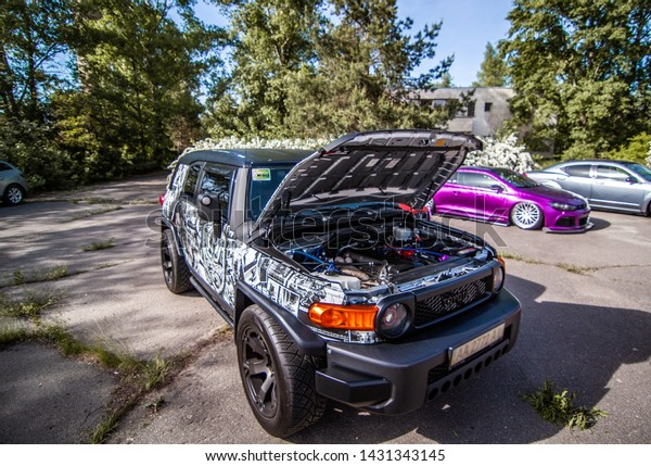 Kyiv Ukraine 18052019 Tuned Toyota Fj Stock Photo (Edit Now