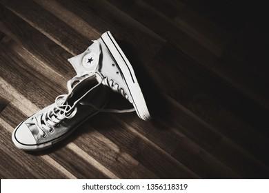 Brasov 22082016 Converse All Star Shoes Stockfoto (Jetzt