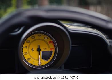 Ferrari Dashboard High Res Stock Images Shutterstock