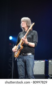 KYIV, UKRAINE - JULY 13: Mike Stern from Mike Stern Band in concert on July 13, 2011 in Kyiv, Ukraine.