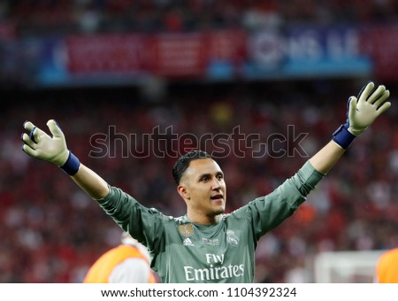288b04aa8 KYIV UKRAINE MAY 26 Keylor Navas Stock Photo (Edit Now) 1104392324 ...