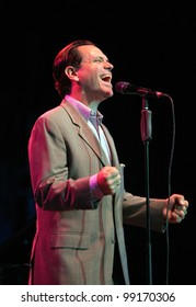 KYIV, UKRAINE - OCT 05: Jazz singer Kurt Elling during his solo concert on October 05, 2011 in Kyiv, Ukraine