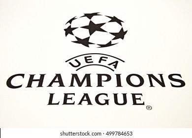 uefa champions league logo images stock photos vectors shutterstock https www shutterstock com image photo kyiv ukraine october 20 2015 official 499784653