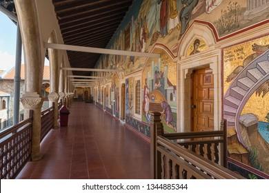 Kykkos, Cyprus-10.21.2018:The Holy Monastery of the Virgin of Kykkos