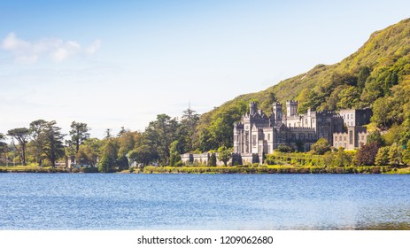 Kylemore Abbey is a Benedictine monastery on the grounds of Kylemore Castle, in Connemara, County Galway, Ireland. The abbey faces onto Pollacappall Lough.