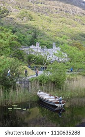 Kylemore Abbey by the Wild Atlantic way, near Galway