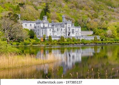 Kylemore Abbey in Connacht