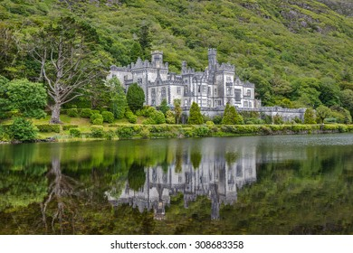 Kylemore Abbey in Summer