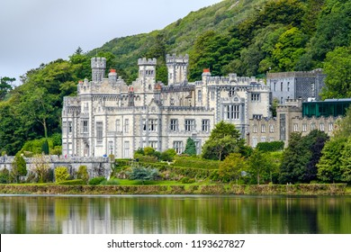 Kylemore Castle and Abbey . Ireland