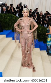 Kylie Jenner attends the 2017 Metropolitan Museum of Art Costume Institute Gala at the Metropolitan Museum of Art in New York, NY on May 1st, 2017