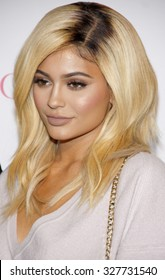 Kylie Jenner at the Cosmopolitan's 50th Birthday Celebration held at the Ysabel in West Hollywood, USA on October 12, 2015.