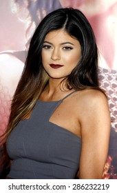 """Kylie Jenner at the Los Angeles premiere of """"The Hunger Games: Catching Fire"""" held at the Nokia Theatre L.A. Live in Los Angeles on November 18, 2013."""