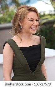 Kylie Minogue during the 'Holy Motors' photocall during the 65th Cannes Film Festival, Cannes, France. 23/05/2012 Picture by: Henry Harris / Featureflash