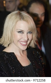 Kylie Minogue at her Brit Awards party at Movida in London - 20 February 2008