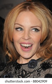 Kylie Minogue at the launch of amfAR's L.A. Event celebrating Men's Style at the Chateau Marmont Hotel, West Hollywood. October 27, 2010  Los Angeles, CA Picture: Paul Smith / Featureflash