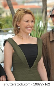 """Kylie Minogue at the photocall for her new movie """"Holy Motors"""" in competition at the 65th Festival de Cannes. May 23, 2012  Cannes, France Picture: Paul Smith / Featureflash"""