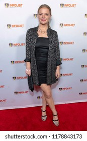 Kyna Wise attends INFOLIST PRE-EMMYS SOIREE  at Skybar at the Mondrian Hotel, West Hollywood, California on September 12th, 2018