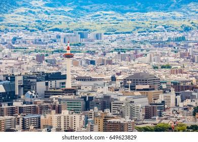 Kyoto City View - Kyoto Station - Kyoto Japan