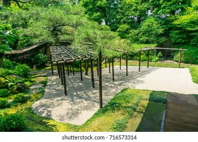 Kyoto Inner Courtyard of Sumi-ya