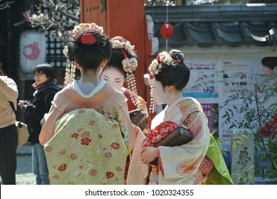 Geisha girls not japan