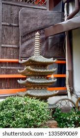 KYOTO, JAPAN - SEPTEMBER 5: Shinsen-en at September 5, 2018 in Kyoto, Japan. Shinsen-en is a medieval Buddhist garden.