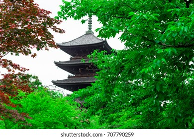 Kyoto Toji Five-storied Pagoda