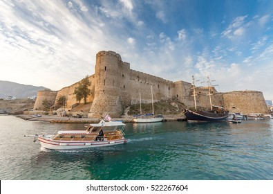 Kyrenia Castle and harbour, Northern Cyprus