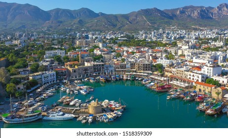 Kyrenia (Girne) is a city on the north coast of Cyprus, known for its cobblestoned old town and horseshoe-shaped harbor.