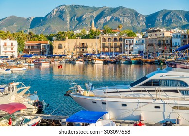 Kyrenia (Girne) harbour. Cyprus