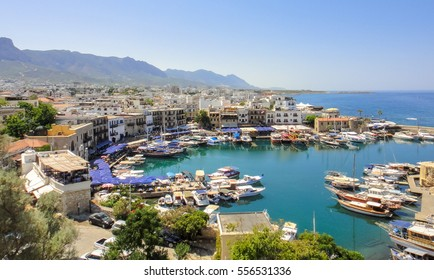 Kyrenia old harbor. Northern Cyprus