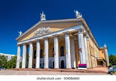 Kyrgyz National Opera and Ballet Theater named after Abdylas Maldybaev in Bishkek