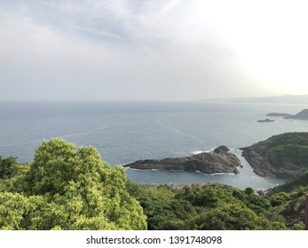 Kyushu Miyazaki Nobeoka Kurusu sea