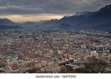 la Bastille at Grenoble, France