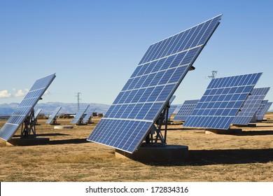 La Calahorra, Granada, Spain; Solar Panels