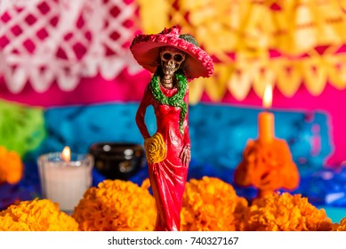 La Catrina - Day of the dead celebration