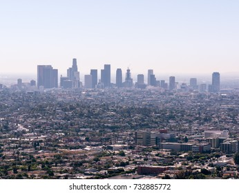 LA cityscape, USA