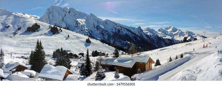 La Clusaz - Manigod ski station - France