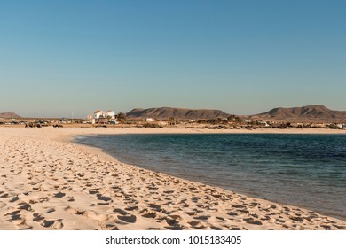 La Concha beach in Fuerteventura, Canary Islands
