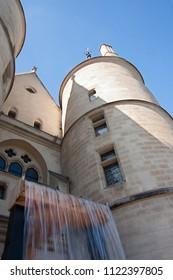 La conciergerie, real french palace and prison of Paris