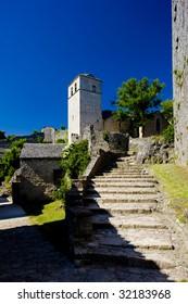 La Couvertoirade, Aveyron Departement, France