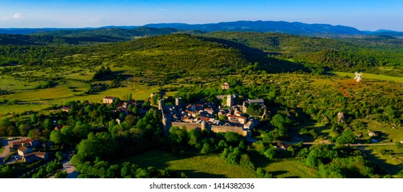 La couvertoirade, french village in Aveyron