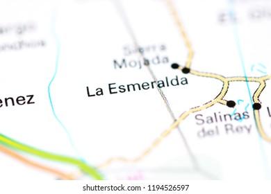 Salinas Mexico Map.Salinas Del Rey Mexico On Map Stock Photo Edit Now 1194526591