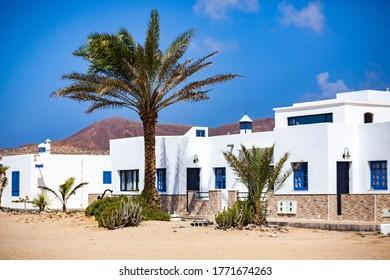 La Graciosa island in Lanzarote, Canary Islands